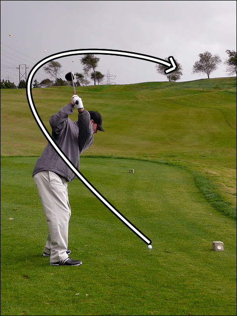 How To Hit The Golf Ball Straight - Slice