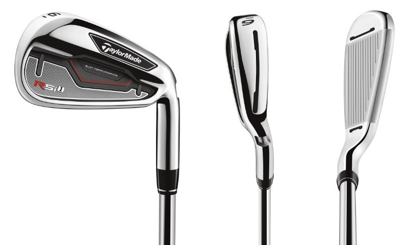 TaylorMade RSi 1 Irons - 3 Perspectives