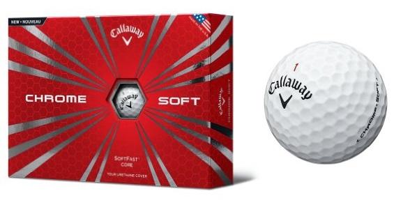 Callaway 2015 Chrome Soft Golf Ball Look