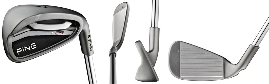PING G25 Irons - 4 Perspectives