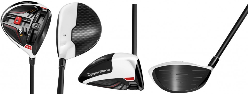 TaylorMade M1 430 Driver - 4 Perspectives