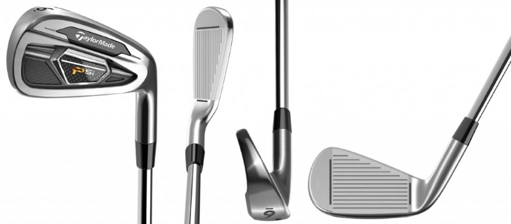 TaylorMade PSi Irons - 4 Perspectives