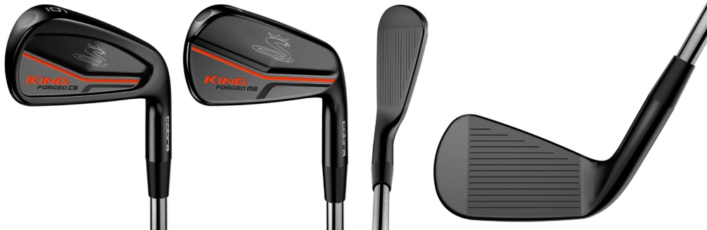 Cobra KING Pro Irons - 4 Perspectives