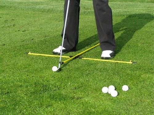 How To Line Up A Golf Shot - Image 1