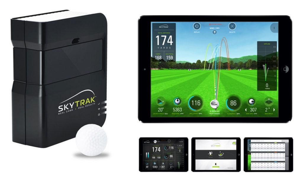 SkyTrak Launch Monitor Device & Simulation