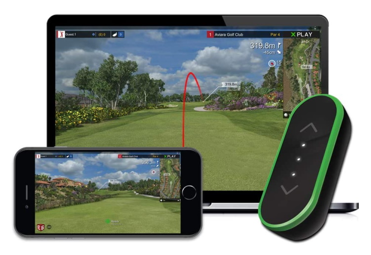 Tittle X 2021 E6 CONNECT Golf Simulator