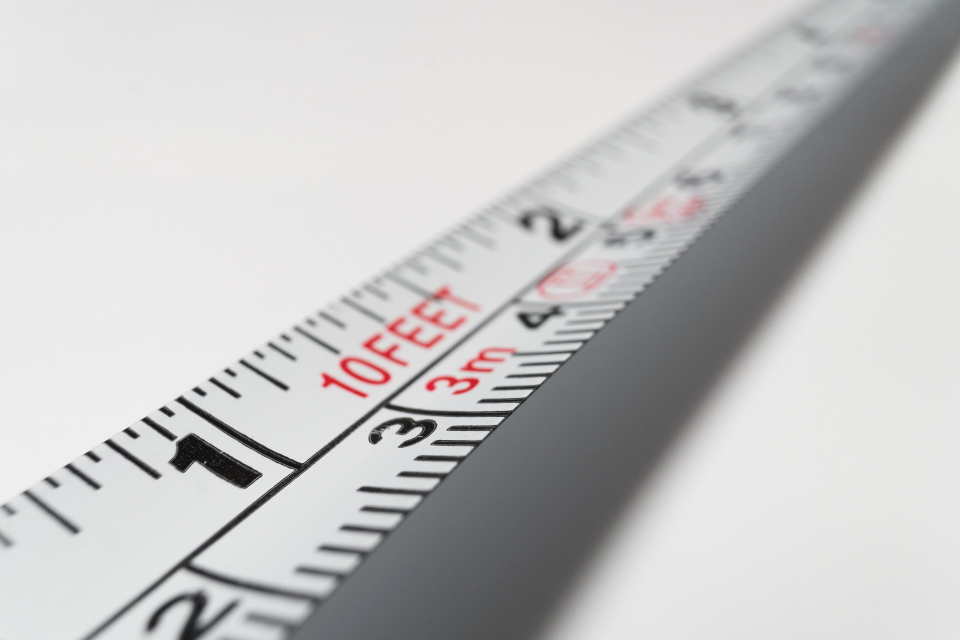 White Measuring Tape