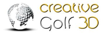 Creative Golf 3D Logo