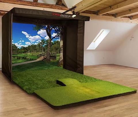 TruGolf Vista 10 Golf Simulator - Base Setup