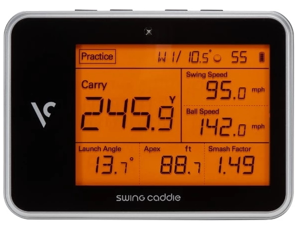 Voice Caddie SC300 Launch Monitor - Front View