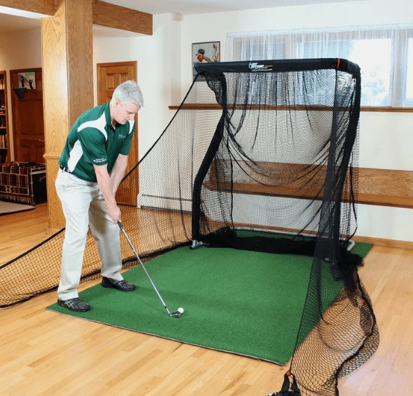 The Net Return Mini Pro Series Golf Net