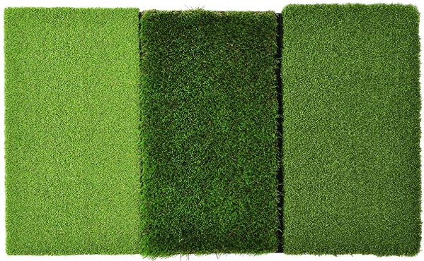 Golf mat turf variations