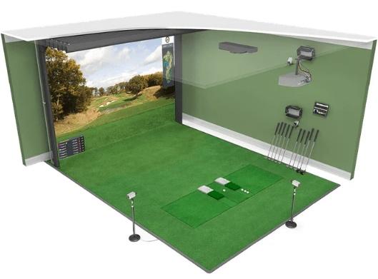 HD Golf Ultimate Training Simulator Package