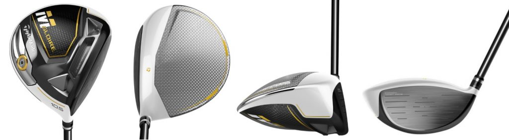 TaylorMade M Gloire Driver - 4 Perspectives