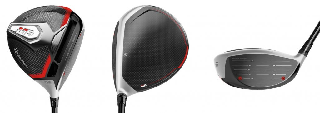 TaylorMade M6 Driver - 3 Perspectives