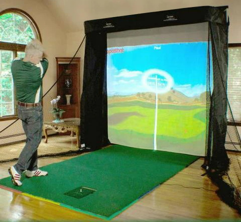OptiShot 2 Platinum Series Golf Simulator Package