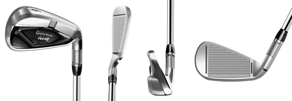 TaylorMade M4 Irons - 4 Perspectives