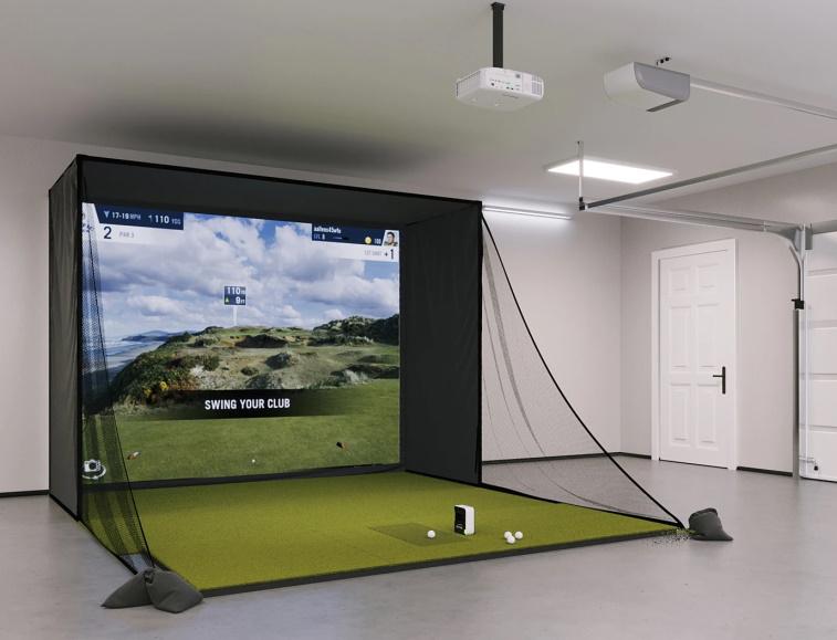 SkyTrak SIG10 Golf Simulator Setup New