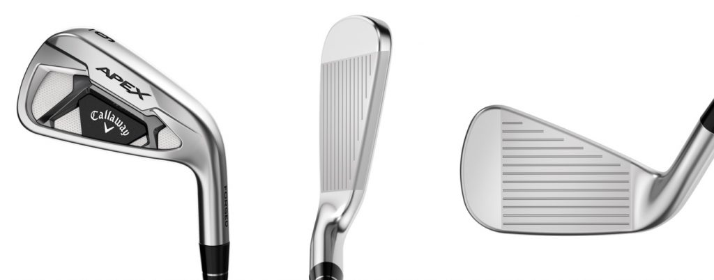 Callaway Apex 21 Irons - 3 Perspectives