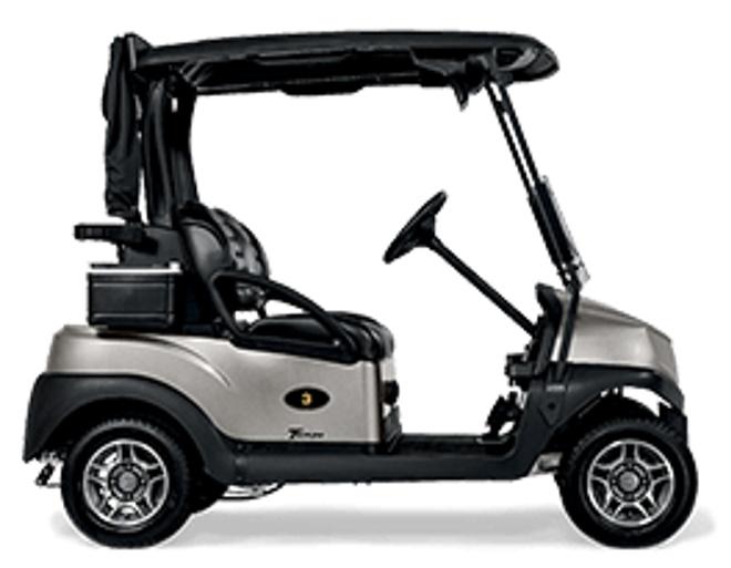 Club Car Tempo Lithium-Ion Golf Cart - Side View