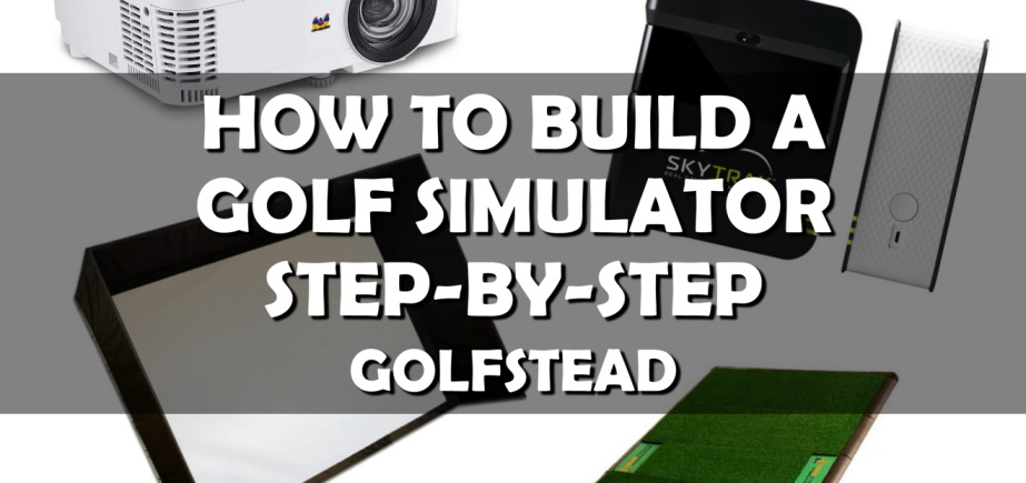 How To Build A Golf Simulator - Banner