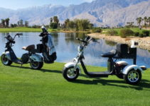 3-wheel vs. 2-wheel electric golf scooter