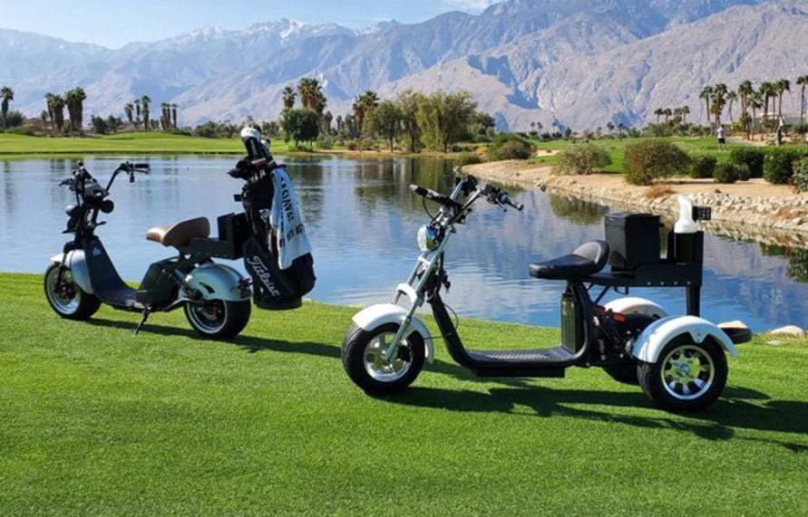 3-wheel vs. 2-wheel electric golf scooter