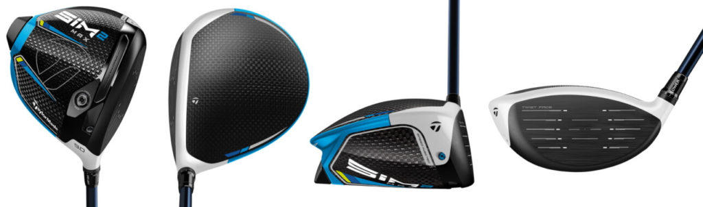 TaylorMade SIM2 Max Driver - 4 Perspectives