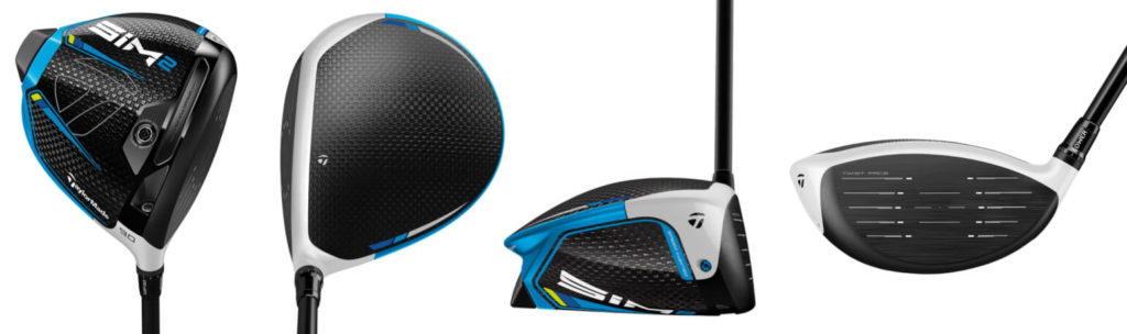 TaylorMade SIM2 Driver - 4 Perspectives