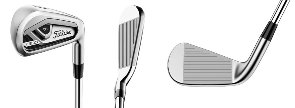 Titleist 2021 T300 Irons - 3 Perspectives