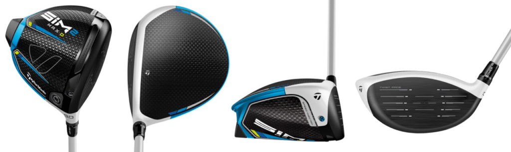 TaylorMade SIM2 Max D Driver - 4 Perspectives