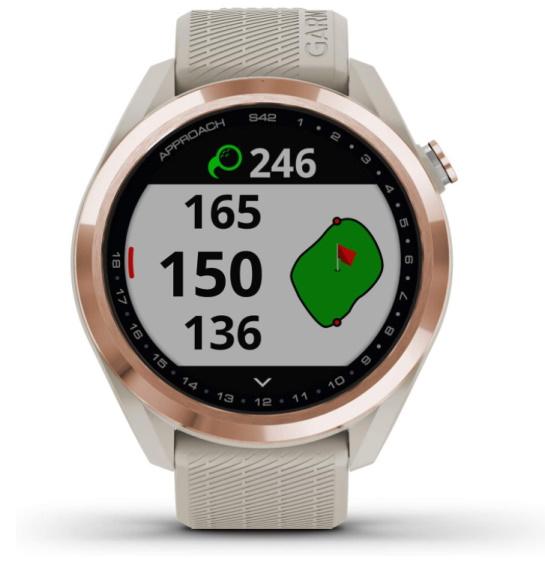 Garmin Approach S42 Golf GPS Watch - Rose Gold