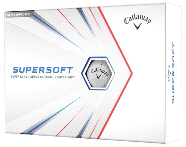 Callaway 2021 Supersoft Golf Ball Package