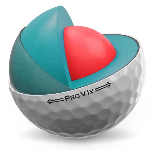 Titleist 2021 Pro V1x Golf Ball - Inside Look