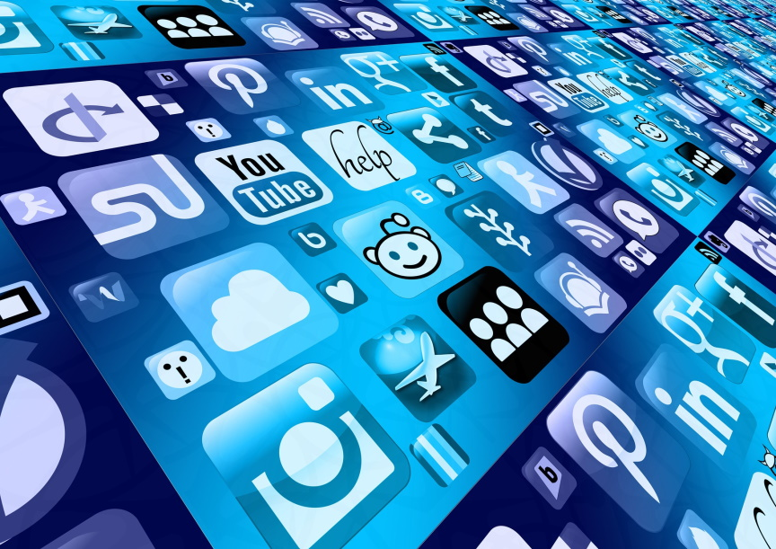 Collection of internet apps for marketing