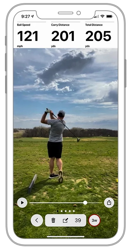 Garmin Golf App - Swing Capture