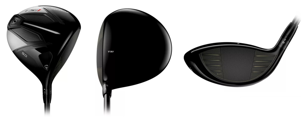 Titleist TSi1 Driver - 3 Perspectives