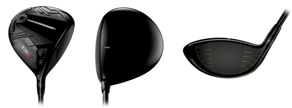 Titleist TSi3 Driver - 3 Perspectives