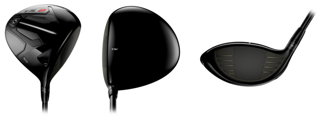 Titleist TSi2 Driver - 3 Perspectives