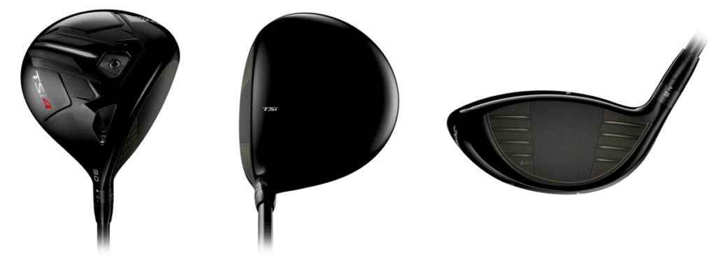 Titleist TSi4 Driver - 3 Perspectives