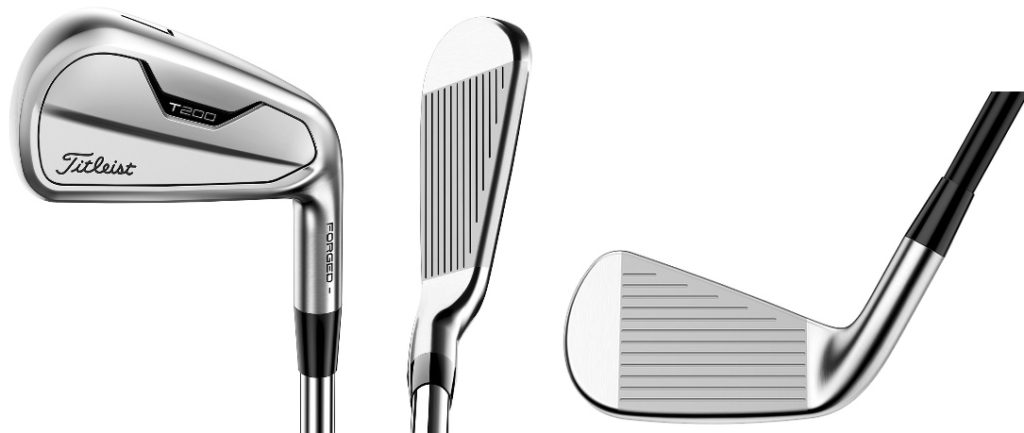 Titleist 2021 T200 Irons - 3 Perspectives