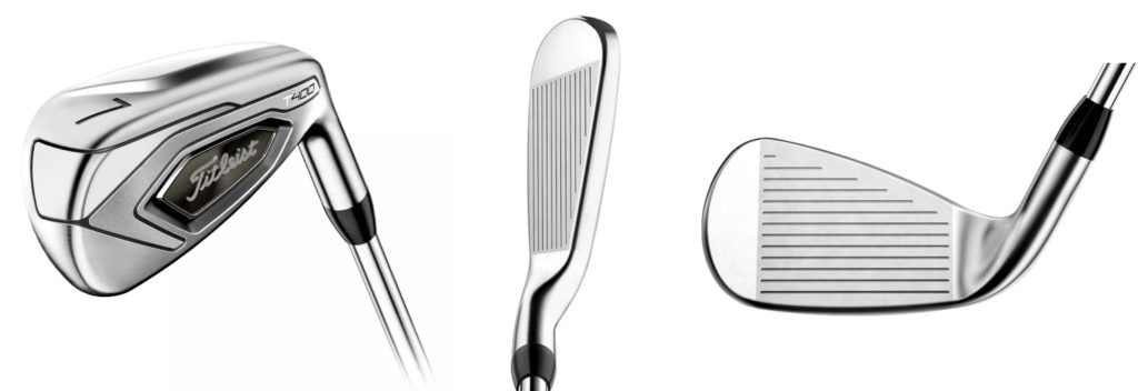 Titleist T400 Irons - 3 Perspectives