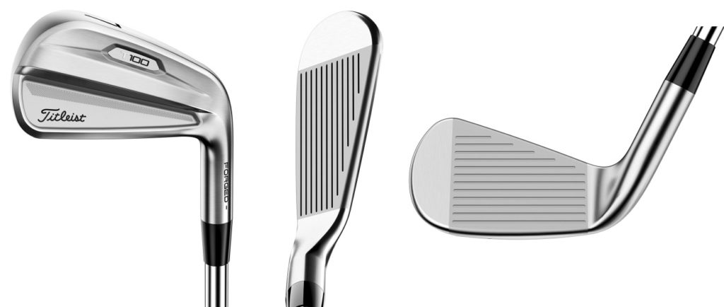 Titleist 2021 T100 Irons - 3 Perspectives